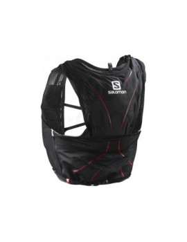 TRAIL RUNNING BACK PACK SALOMON ADV SKIN 12 SET BLACK AND RED