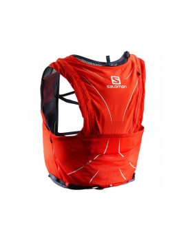 TRAIL RUNNING BACK PACK SALOMON ADV SKIN 12 SET RED AND BLACK
