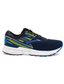RUNNING SHOES BROOKS ADRENALINE GTS 19 BLUE AND BLACK FOR MEN'S