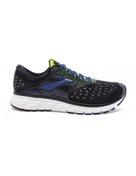 RUNNING SHOES BROOKS GLYCERIN 16 BLACK AND BLUE FOR MEN'S