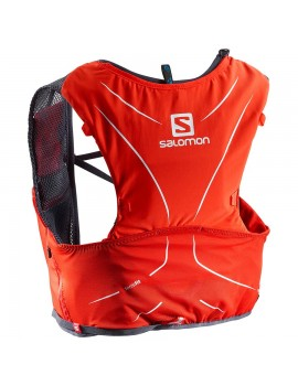 SAC A DOS DE TRAIL RUNNING SALOMON ADV SKIN HYDRO 5 SET ROUGE