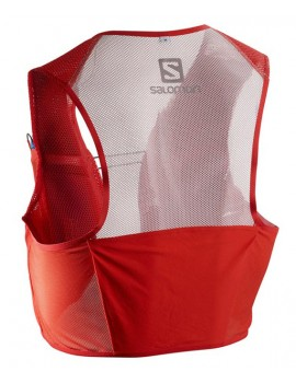 TRAIL RUNNING RACE VEST SALOMON S-LAB SENSE 2 SET RED UNISEX