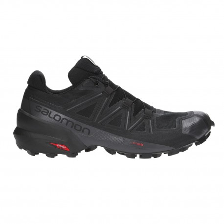 TRAIL RUNNING SHOES SALOMON SPEEDCROSS 5 BLACK FOR MEN'S