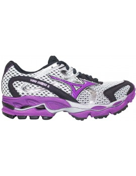 RUNNING SHOES MIZUNO WAVE ENIGMA 2 GREY AND PURPLE FOR WOMEN'S