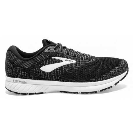 RUNNING SHOES BROOKS REVEL 3 BLACK FOR WOMEN'S