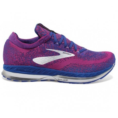 RUNNING SHOES BROOKS BEDLAM PURPLE AND BLUE FOR WOMEN'S