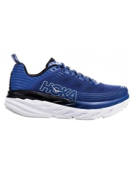 RUNNING SHOES HOKA ONE ONE BONDI 6 BLUE FOR MEN'S