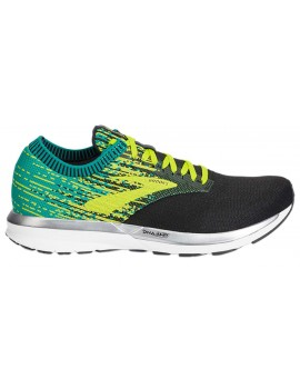 RUNNING SHOES BROOKS RICOCHET GREEN AND BLACK FOR MEN'S