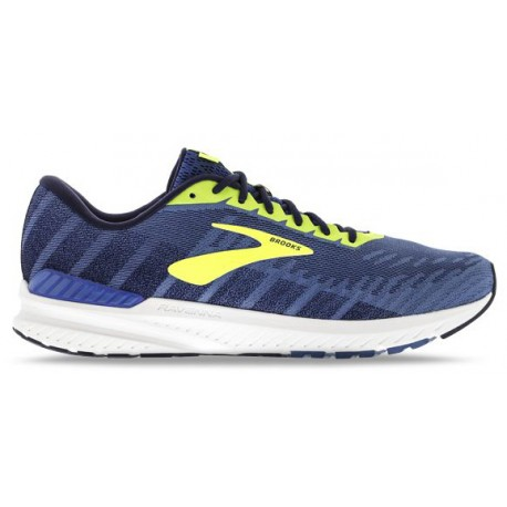 RUNNING SHOES BROOKS RAVENNA 10 BLUE AND YELLOW FOR MEN'S