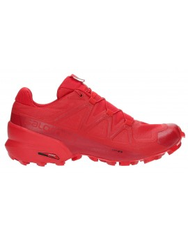 TRAIL RUNNING SHOES SALOMON SPEEDCROSS 5 RED FOR WOMEN'S