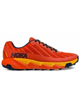 TRAIL RUNNING SHOES HOKA ONE ONE TORRENT ORANGE AND YELLOW FOR MEN'S