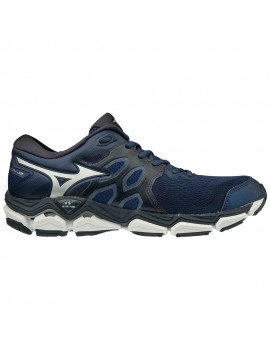 RUNNING SHOES MIZUNO WAVE HORIZON 3 BLUE AND BLACK FOR MEN'S