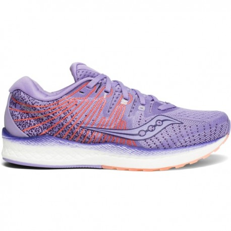 RUNNING SHOES SAUCONY LIBERTY ISO 2 PURPLE AND PEACH FOR WOMEN'S