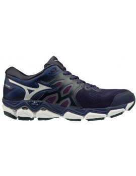 RUNNING SHOES MIZUNO WAVE HORIZON 3 PURPLE AND BLACK FOR WOMEN'S