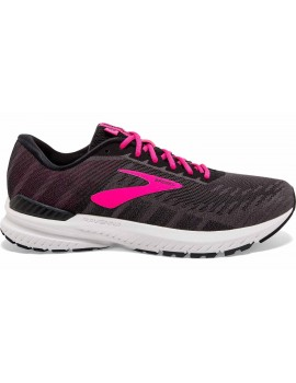 RUNNING SHOES BROOKS RAVENNA 10 BLACK AND PINK FOR WOMEN'S