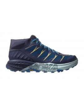 TRAIL RUNNING SHOES HOKA ONE ONE SPEEDGOAT MID WP SEAPORT BLUE FOR WOMEN'S