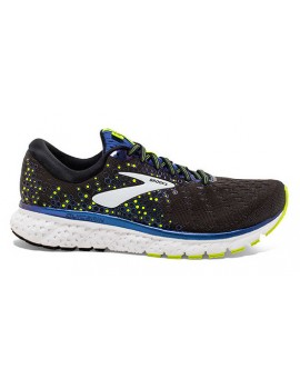 RUNNING SHOES BROOKS GLYCERIN 17 BLACK AND BLUE FOR MEN'S