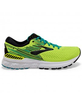RUNNING SHOES BROOKS ADRENALINE GTS 19 YELLOW AND BLACK FOR MEN'S