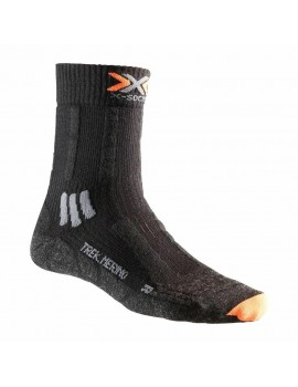 X-SOCKS TREKKING MERINO BLACK FOR MEN'S