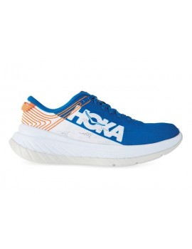 RUNNING SHOES HOKA ONE ONE CARBON X BLUE FOR MEN'S
