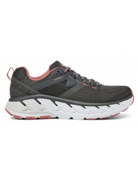RUNNING SHOES HOKA ONE ONE GAVIOTA 2 GREY AND CORAIL FOR WOMEN'S