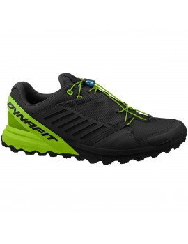 TRAIL RUNNING SHOES DYNAFIT ALPINE PRO BLACK AND GREEN FOR MEN'S