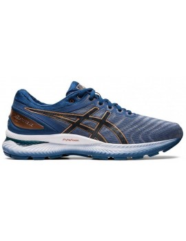 RUNNING SHOES ASICS GEL NIMBUS 22 BLUE FOR MEN'S