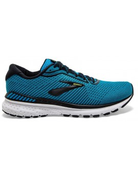 RUNNING SHOES BROOKS ADRENALINE GTS 20 BLUE AND BLACK FOR MEN'S