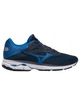 RUNNING SHOES MIZUNO WAVE RIDER 23 BLUE AND BLACK FOR MEN'S