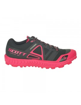 TRAIL RUNNING SHOES SCOTT SPORTS SUPERTRAC RC BLACK AND PINK FOR WOMEN'S
