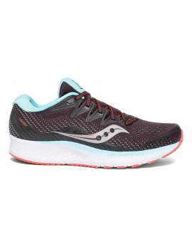 RUNNING SHOES SAUCONY RIDE ISO 2 BROWN AND BLUE FOR WOMEN'S
