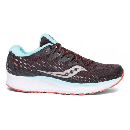 RUNNING SHOES SAUCONY RIDE ISO 2 BLACK AND BLUE FOR WOMEN'S