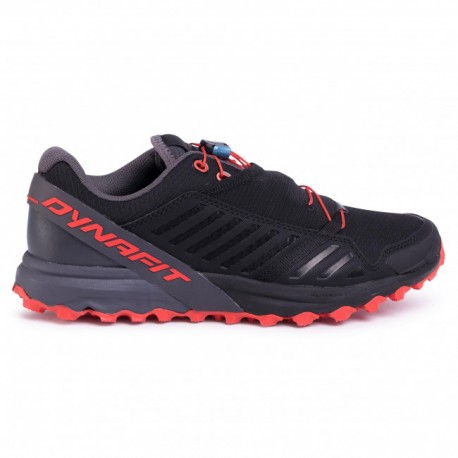 TRAIL RUNNING SHOES DYNAFIT ALPINE PRO BLACK AND RED FOR MEN'S