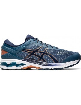 RUNNING SHOES ASICS GEL KAYANO 26 BLUE PEACOT FOR MEN'S