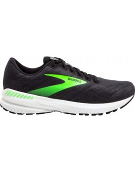 RUNNING SHOES BROOKS RAVENNA 11 BLACK AND GREEN FOR MEN'S