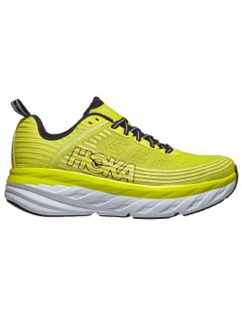 RUNNING SHOES HOKA ONE ONE BONDI 6 YELLOW FOR MEN'S