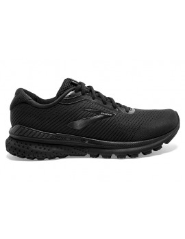 RUNNING SHOES BROOKS ADRENALINE GTS 20 BLACK FOR MEN'S