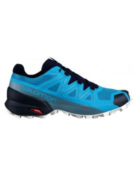 TRAIL RUNNING SHOES SALOMON SPEEDCROSS 5 BLUE FOR MEN'S