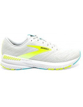 RUNNING SHOES BROOKS RAVENNA 11 GREY AND YELLOW FOR MEN'S