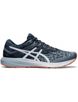 RUNNING SHOES ASICS GEL DYNAFLYTE 4 GREY AND BLUE FOR MEN'S