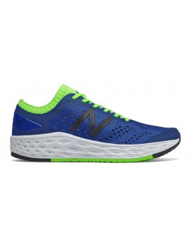 RUNNING SHOES NEW BALANCE VONGO V4 BLUE AND GREEN FOR MEN'S
