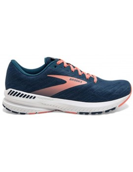 RUNNING SHOES BROOKS RAVENNA 11 BLUE AND ORANGE FOR WOMEN'S