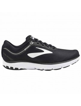 RUNNING SHOES BROOKS PURE FLOW 7 BLACK AND WHITE FOR WOMEN'S