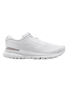 RUNNING SHOES BROOKS ADRENALINE GTS 20 WHITE FOR WOMEN'S