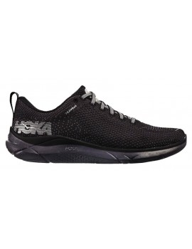 HOKA ONE ONE HUPANA 2 RUNNING SHOES BLACK AND WHITE FOR MEN'S