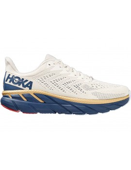 RUNNING SHOES HOKA ONE ONE CLIFTON 7 WHITE FOR MEN'S