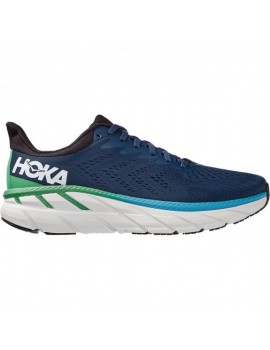 RUNNING SHOES HOKA ONE ONE CLIFTON 7 BLUE FOR MEN'S