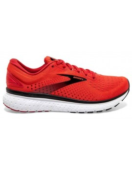 RUNNING SHOES BROOKS GLYCERIN 18 RED FOR MEN'S