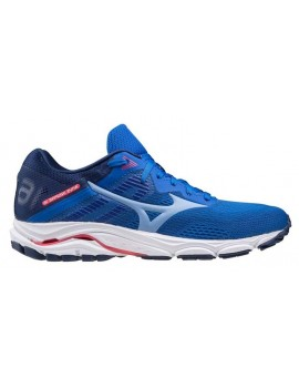 RUNNING SHOES MIZUNO WAVE INSPIRE 16 BLUE AND PINK FOR WOMEN'S