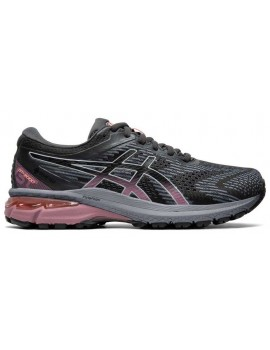 RUNNING SHOES ASICS GT 2000 V8 GTX BLACK AND PURPLE FOR WOMEN'S